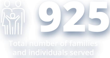 925 Families Served