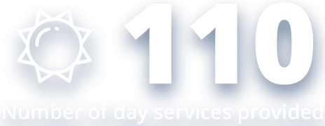 110 Day Services Provided